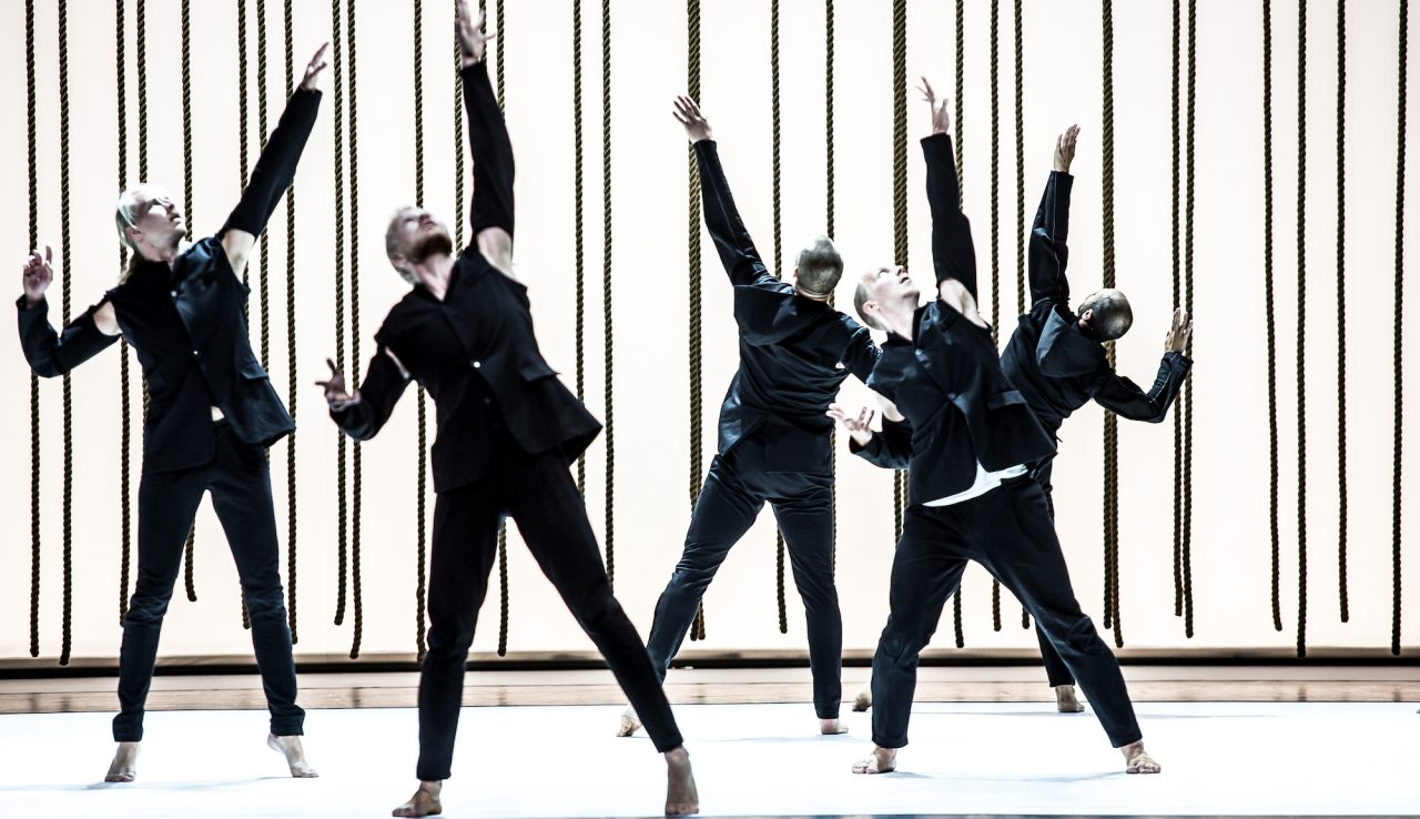 Resultado de imagen de Morphed par Tero Saarinen au Théâtre National de Chaillot